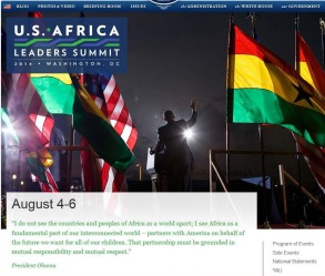 Screenshot of the summit website.