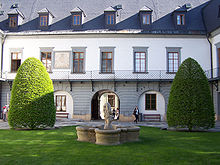 Palacký University, Philosophy Faculty courtyard (photo: Wikipedia/Darwinek)